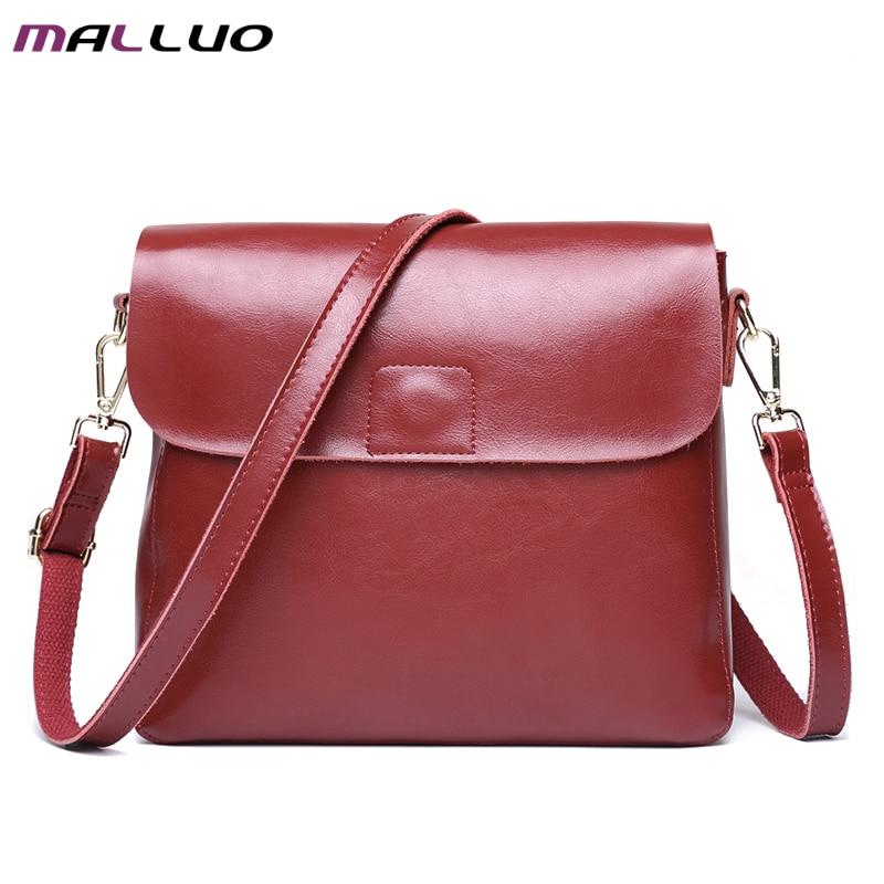 ФОТО MALLUO Women Messenger Bags High Quality Crossbody Bag Luxury Handbags Women Bags Designer Ladies Shoulder Bolsa Feminina Tote