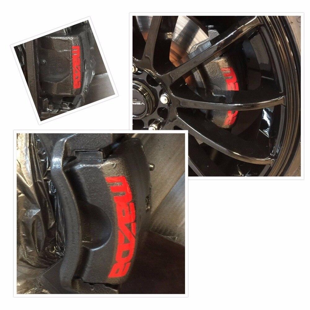 8 Pc Set Mazda 3 6 Cx5 Rx8 Miata Brake Caliper Vinyl Sticker Decal Logo Graphics