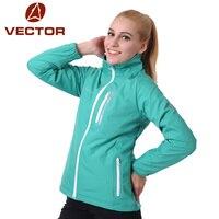 Vetor softshell jaqueta feminina jaqueta impermeável à prova de vento ao ar livre acampamento caminhadas jaquetas windstopper concha macia feminino 60009