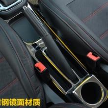 Автомобильные наклейки из нержавеющей стали, панель ручного тормоза, украшение для 2011- Volkswagen VW POLO