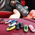 2 шт. автомобильные чехлы для ключей с дистанционным управлением для Porsche Panamera Carman Macann Bobst Cayenne 911 970 981 991 92A 2017 автомобильные аксессуары