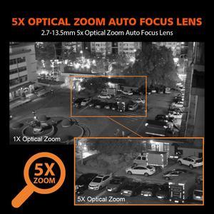 Image 3 - 5X Optische Zoom Draadloze Ptz Ip Camera Wifi 1080P 5MP Twee Weg Audio Outdoor Video Surveillance Home Security Camera p2P Camhi