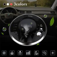Car Air Purifier Auto Minus Ion Removing Formaldehyde PM2.5 Apparatus Portable Car Air Cleaner Ionic UV HEPA Ionizer Fresh Ozone
