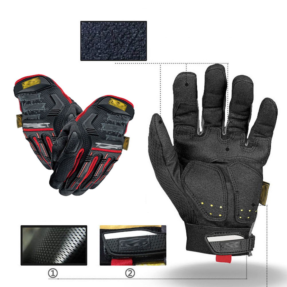 Brand New arrival Touchscreen Gloves Tactical Cycling Motorcycle Combat Hard Knuckle Full Finger Gloves 2