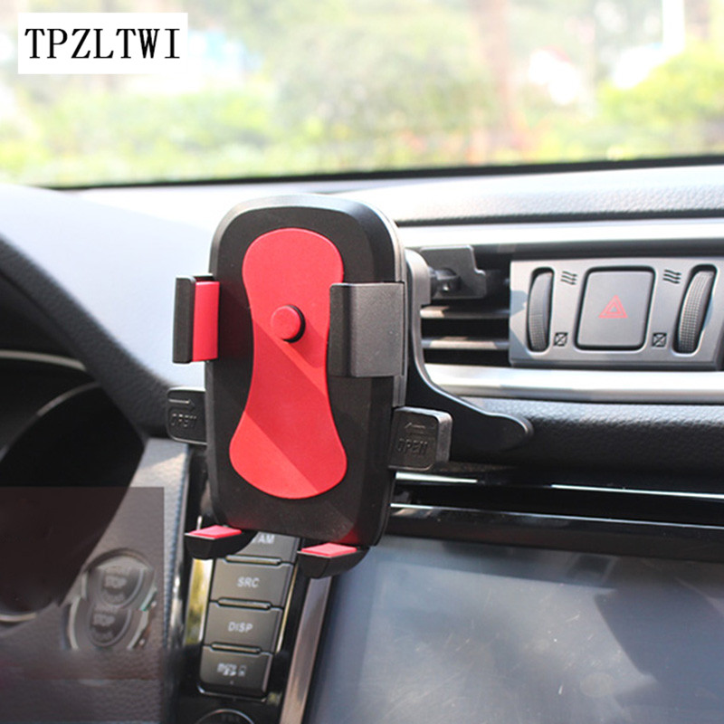 TPZLTWI Car Phone Holder For Renault Megane 2 3 Duster Logan Clio Captur Laguna 2 1 Sandero Fluence Scenic Kadjar Master Koleos renault megane coupe 1999