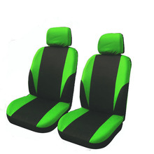 Universal Car Seat Cover Set 8Pcs Covers Front Back Headrest Polyester Black and Gray 6 Styles Optional