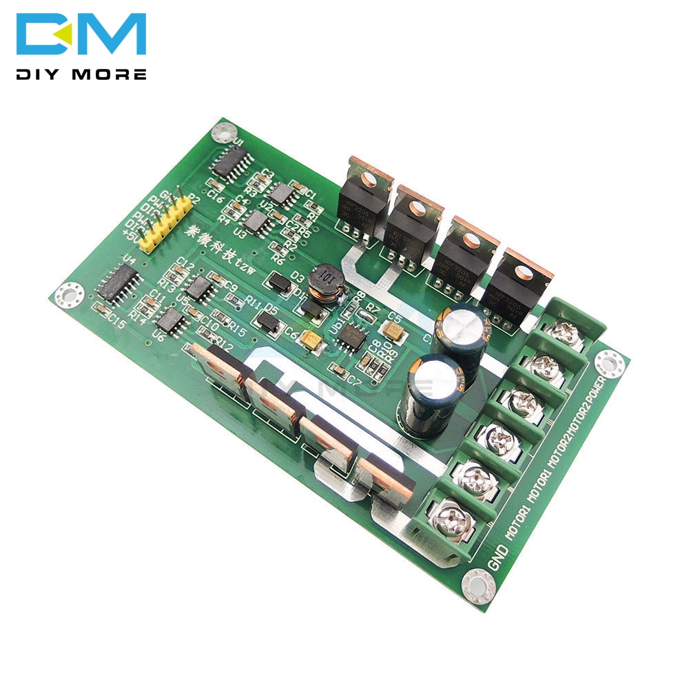High Quality Newest H-Bridge Dual Motor Driver Drive Module Board DC MOSFET IRF3205 3V-36V 10A 30A Peak 30A Replace L298High Quality Newest H-Bridge Dual Motor Driver Drive Module Board DC MOSFET IRF3205 3V-36V 10A 30A Peak 30A Replace L298