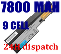 7800mAh laptop battery for Lenovo IdeaPad S100 S10-3 S205 S110 U160 S100c S205s U165 L09S6Y14 L09M6Y14 9 cells