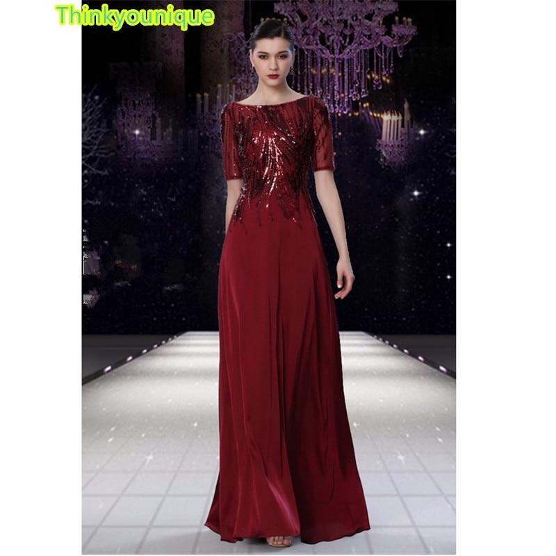 Sequined Gold Party Gown Formal Long Evening dresses vestido de festa longo robe de soiree vestidos de novia abendkleider SA006