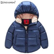 Filles Vestes Enfants Hiver Chaud Manteau Veste Pour Les Filles Garçons Enfants Vêtements à capuche de Survêtement Bébé Garçon Vêtements 1 2 3 4 5 6 Ans