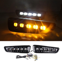 High Quality Daytime Running Lights Yellow Turn Signal Lamp Car LED DRL Daylight For Ford Raptor F150 2017 2018