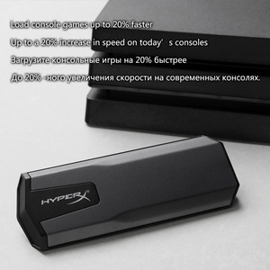 Image 4 - كينج ستون HyperX محرك أقراص الحالة الصلبة 480gb Hdd 960gb ثلاثية الأبعاد NAND USB 3.1 Gen 2 SSD خارجي للكمبيوتر ماك PS4 واحد