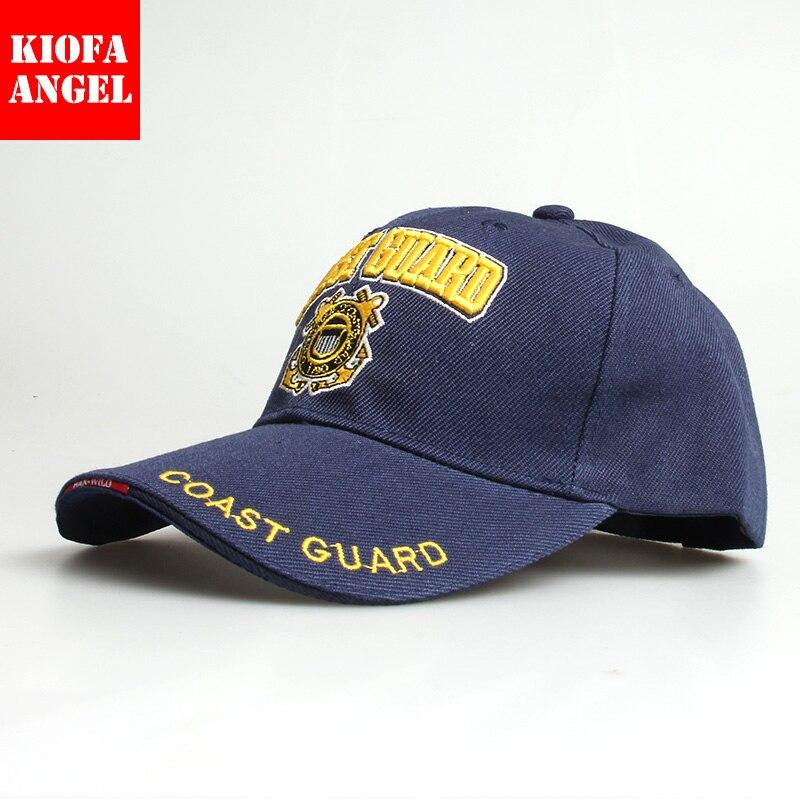 sconto del 50 varietà di design sentirsi a proprio agio Casual USA Guardia Costiera Army Berretto da baseball Osso ...