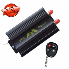 TK103B Автомобильный GPS Tracker Системы с GPS и GSM в Режиме реального времени Двойной Месте, Пульт Дистанционного Управления Противоугонной Трекер GPS103B