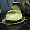 Мода Летние Шляпы Для Женщин Мужчин Fedora Cap Sun Пляжа Лета Соломы Панама Hat Градиент Цвета Шляпа Унисекс Случайный