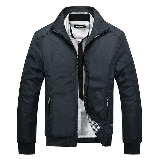1ffd411e055 Черные тонкие модели куртки 2015 новые горячие продажи мода Европейский  стиль Мужские куртки тонкие пальто черные