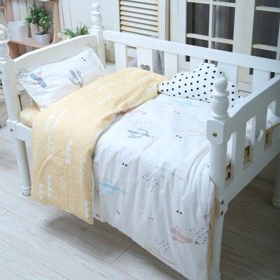 2019 Mode Mit Füllung Kaktus Nordic Stil Krippe Weiche Decke Schutz Baby Bett Set Infant Bettwäsche Set, Duvet/blatt/kissen Mit Traditionellen Methoden