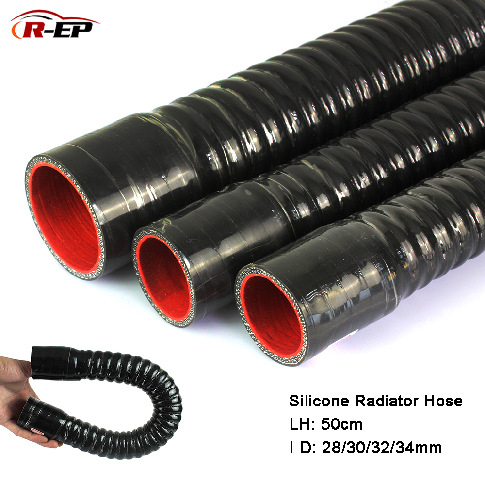 R-EP Silicone Flexible Hose ID <font><b>28</b></font> 30 32 34mm for Water Radiator <font><b>Tube</b></font> for Air Intake High Pressure Rubber Joiner Pipe image
