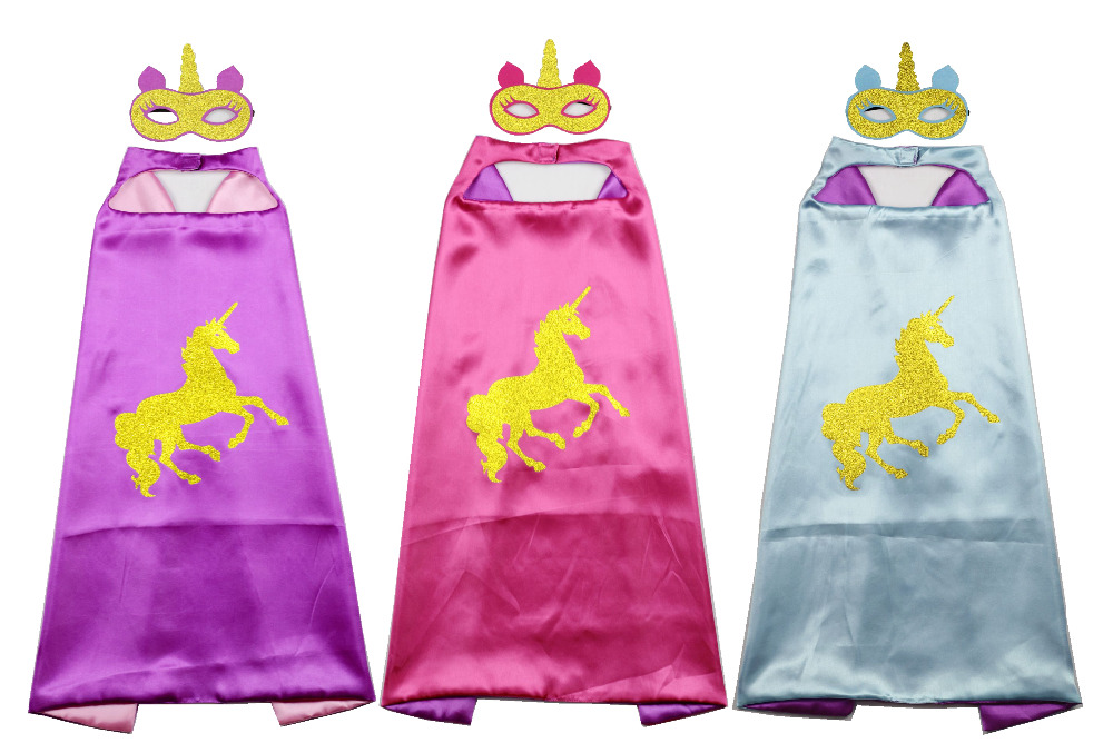 Girls Super Hero Cape, Unicorn Cape, kids capes, superhero cape, unicorn party, Christmas gift, unicorn horn, christmas gift