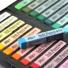 Soft Pastels Drawing Set Art Set Soft Crayon Hair Chalk Hair Colors Crayons 12 24 36