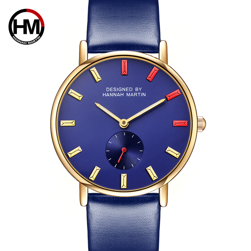 Dropshipping fashion creative watches Women quartz-watch brand unique dial design Business watch leather Waterproof wristwatches new fashion creative watches women men quartz watch 2017 hot brand unique dial design lovers watch leather wristwatches clock