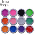 Lauryn Magic for beauty 12pcs Pure Colo rDecor UV Gel Nail Polish Excellent Nail Gel Manicure Profession