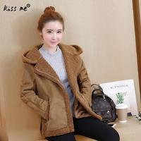 Thicken Women Parkas Fashion Patchwork Autumn Winter Outerwear Long Sleeve With Hoodies Ladies Jacket Coats S