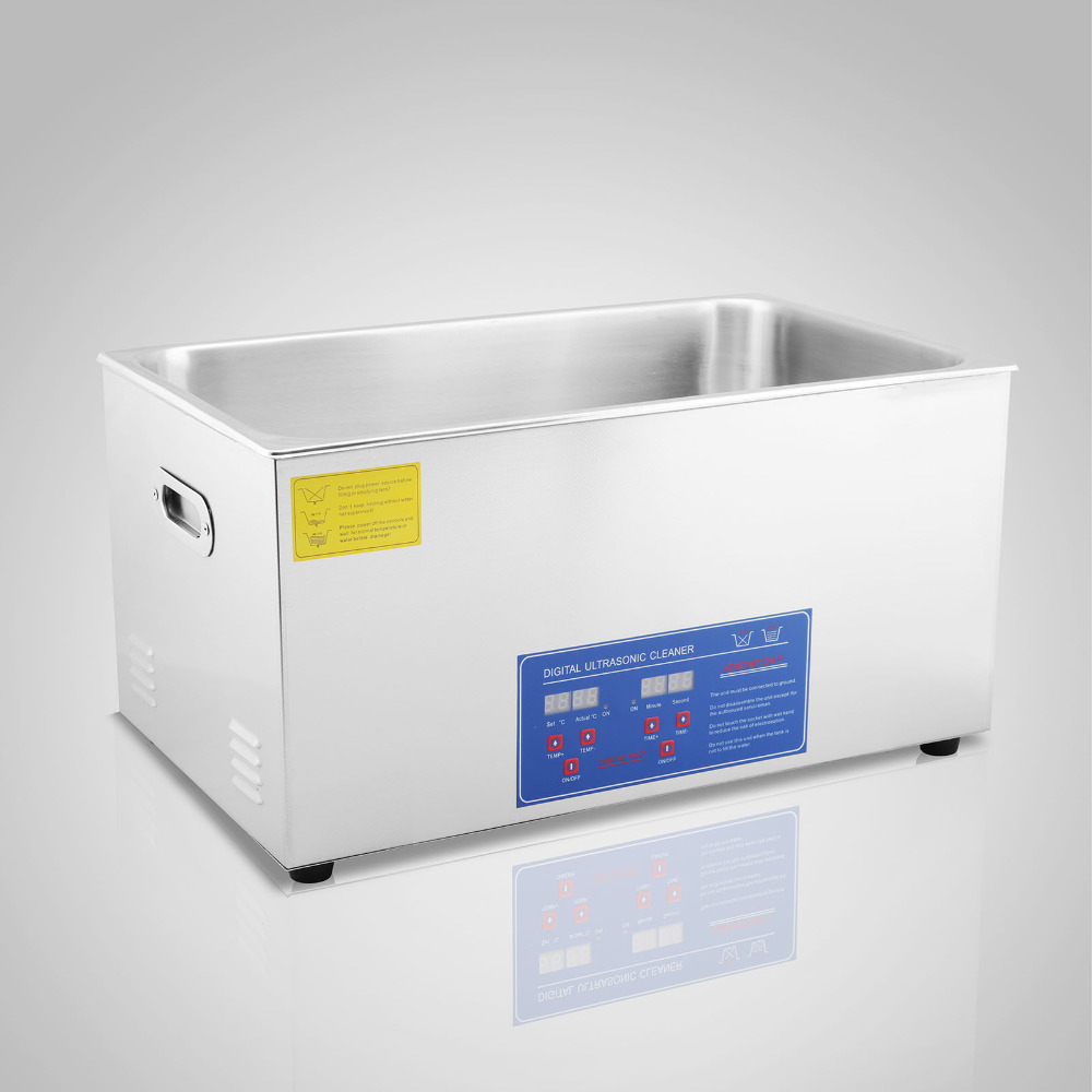 22L Ultrasonic Cleaner With Digital Timer Jewelry Watch Glasses Cleaner