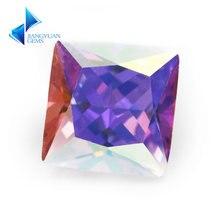 Размер 3x3 ~ 10x10 мм покрытие ab цветной многоцветный кубический