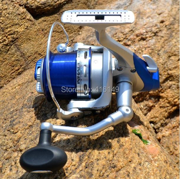 RISN shallow spool long distance shot fishing reel with spare spool IH6000 IH8000 IH10000