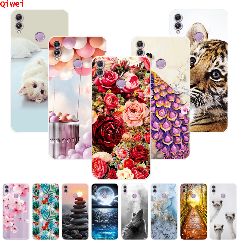 Coque Cover For Huawei <font><b>Honor</b></font> 8X <font><b>Case</b></font> Silicone Soft TPU Back Phone <font><b>Cases</b></font> For Fundas Huawei <font><b>Honor</b></font> 8X <font><b>Honor</b></font> 8 X Honor8X <font><b>X8</b></font> Max Capa image