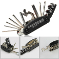 16 In 1 Multi-Function Motorcycle Bike Repair Tools Travel Kit Allen Key Multi Hex Wrench Screwdriver Kits Moto Tools