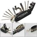 16 em 1 multi-função motocicleta da bicicleta reparação ferramentas kit de viagem multi hex chave allen chave de fenda kits de moto ferramentas