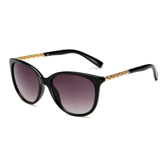 Design da Marca de moda Olho de Gato Óculos De Sol De Luxo Mulheres óculos  de 14ae3af5bb