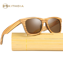 Kithdia Design Zebra Wood Sunglasses Polarized Handmade Wooden and Support DropShipping / Provide Pictures #KD045