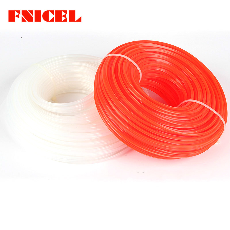 2.4mm/3mm 450g Grass Trimmer Line Strimmer Brushcutter Nylon Trimmer Wire Long Round Roll Square Grass Rope Line
