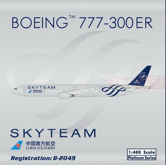 Sale: Phoenix 11221 China Southern Airlines SkyTeam China B777-300ER No. 1:400 commercial jetliners plane model hobby