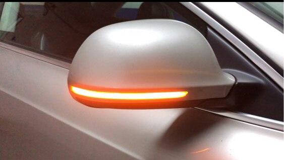 Sequential Mirror Turn Signals for Audi Q3 A6 C6 4F A4 A5 B8 SQ3 A3 8P