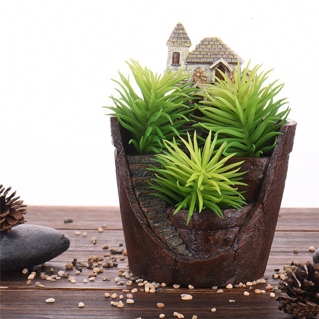 small sword green grass artificial plants for plastic flowers for
