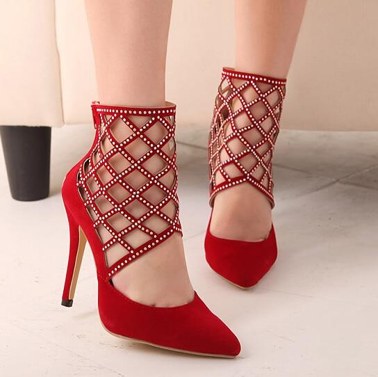 Zapatos rojos para mujer ls8kgQs