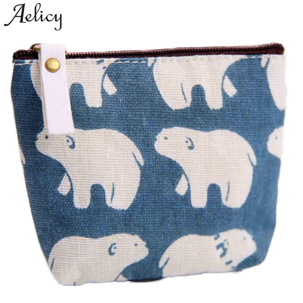 Aelicy Women's Purse Small Cute Kids Coin Wallet Women Coin Purse Money Pouch Zipper Small Change Pouch Key Holder Bags Carteira цена