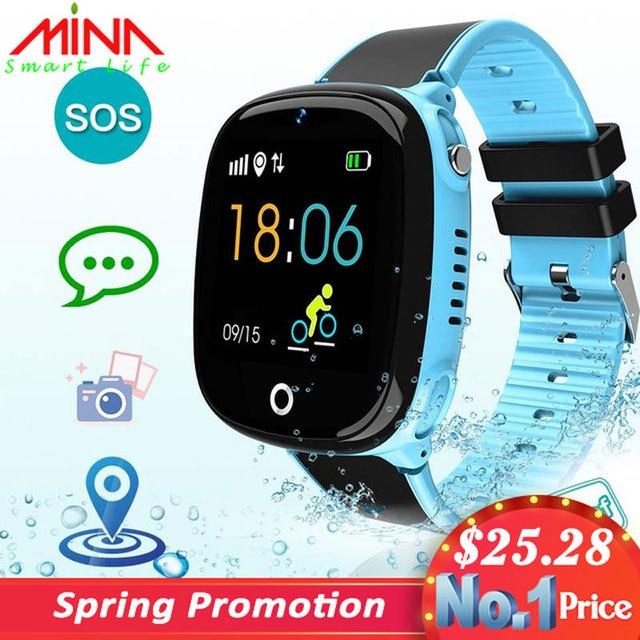 HW11 Smartwatch Children Family Bluetooth Pedometer Smart Watch Waterproof Wearable Device GPS SOS Call Kids Safe pk Q50 Q90