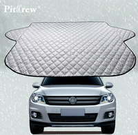 Professional Car Windshield Sun Shade Snow Covers Water Resistant Reflective Foil All Purpose Protection Car Styling