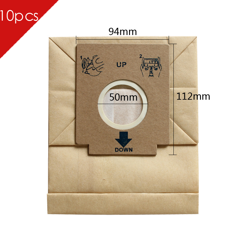 10pcs of universal Pager dust bags vacuum cleaner bags 94x112cm suitable for Philips Electrolux LG Haier Samsung etc