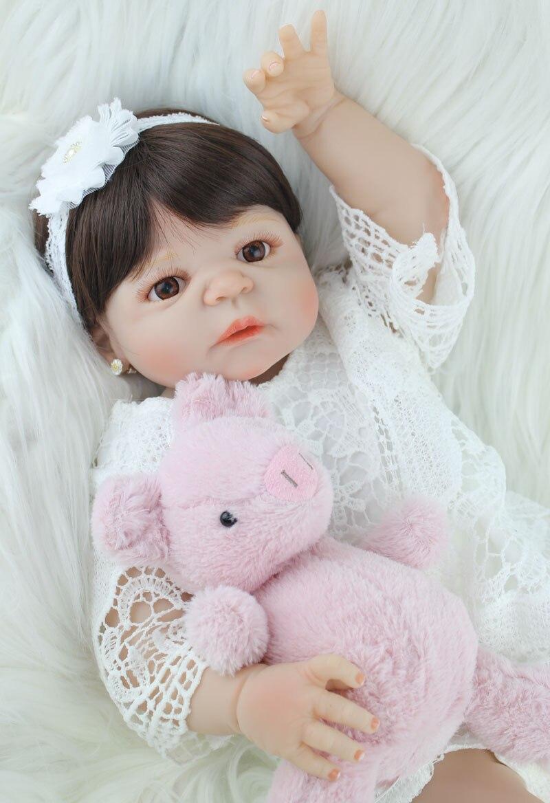 boneca crianca brinquedo lifelike 22 vinil princesa 02