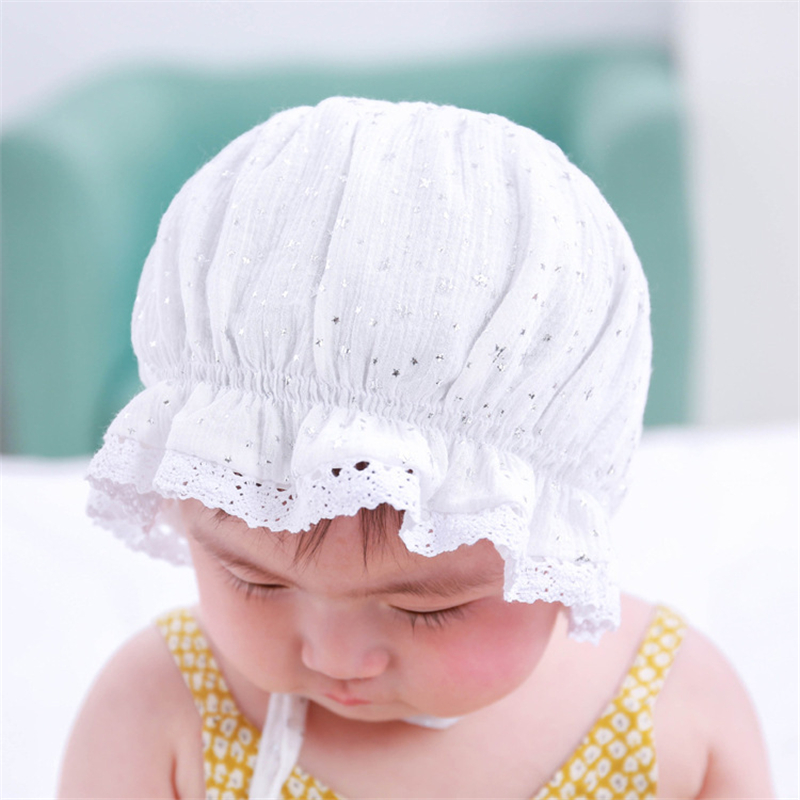 European Fashion White Khaki Breathable Summer Spring Lace Side Cute Sun  Hats For Baby Bucket Hat Kids -in Hats   Caps from Mother   Kids on  Aliexpress.com ... 6be2d263a191