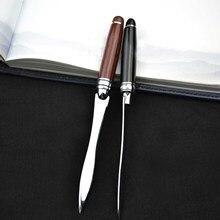 Ретро винтажный металлический нож для открывания букв, бумажный нож с деревянной ручкой для школы, дома, офиса, разные цвета