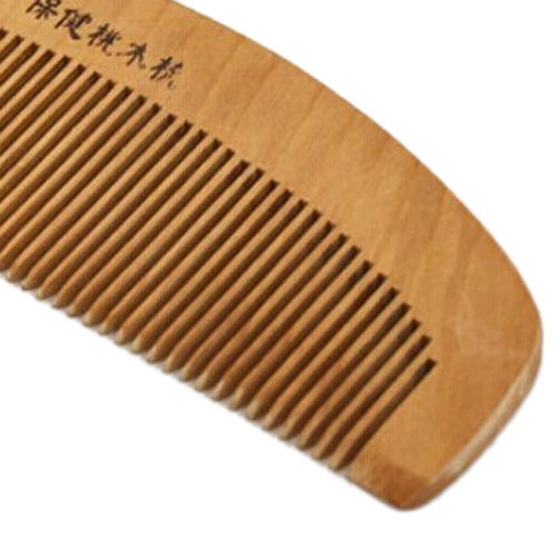 """High Quality 6.1"""" Long Chinese Traditional Handmade Hair Styling Toothed Wooden Comb"""