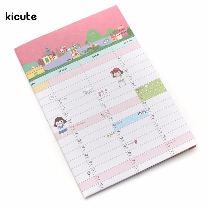 Kalender, Planer Und Karten Beste Förderung 2016 Schreibunterlage Wand Zeitplan 365 Tage Ziel Tabelle Kalender Planer Büro Täglichen Jährlich Für Home Office Liefert
