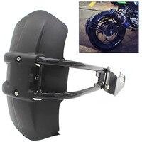 CNC Aluminum Motorcycle Accessories rear fender bracket motorbike mudguard For KAWASAKI Z250 Z300 Z750 Z800 KLR650 Rear fende